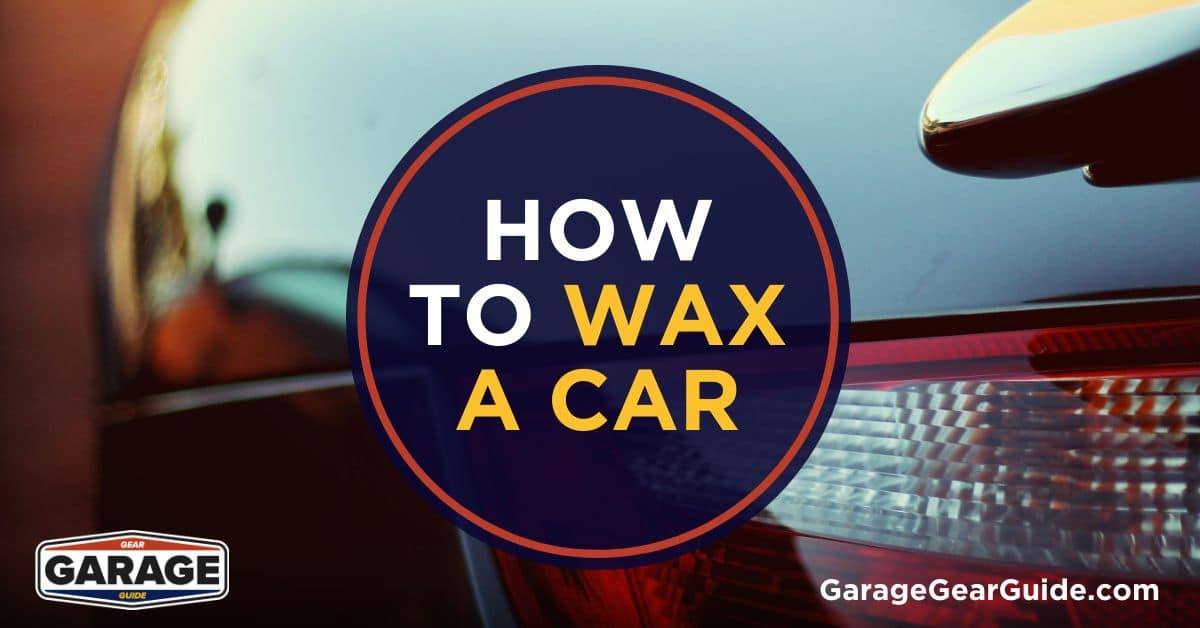 How to Wax a Car With a Buffer or By Hand